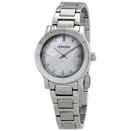 Versace Acron Mother of Pearl Dial Ladies Watch vqa080017