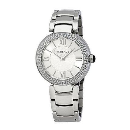 VersaceレダSilver Dial Ladies Watch vnc210017