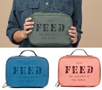 FEED(フィード) ハンドバッグ 国内発送 FEED*Lunch Box キャンバス ランチバッグ 3色から♪