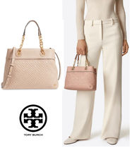 Tory Burch 2Way Bag! FLEMING SMALL TOTE NEW MINK