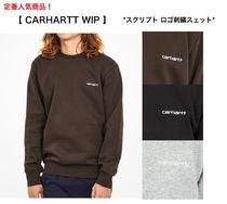 *Carhartt WIP* スクリプトロゴ刺繍スウェット【関税/送料込み】