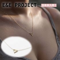 【E and E Project】TINY TRIANGLE♡ ネックレス