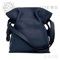 LOEWE★ロエベ Flamenco Knot Bag Marine