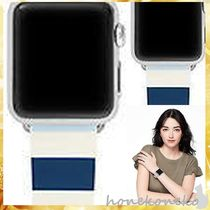 【国内発 kate spade 送料込】Silicone apple watch strap2