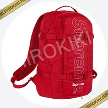 【18AW】Supreme Backpack 3M Reflective リフレクティブ Red 赤