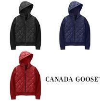 【CANADA GOOSE】HyBridge Quilted Knit Hoody