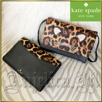 在庫有即発★KATE SPADE Leopard Summer Crossbody Bag WLRU5029
