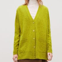 """COS"" SPECKLED OVERSIZED CARDIGAN YELLOW"