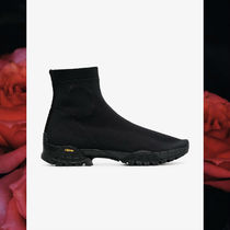 2018AW Alyx Black Knit Hiking stretch fabrication Boots