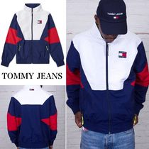 Tommy Hilfiger(トミーヒルフィガー) ブルゾン ☆TOMMY JEANS☆ 90'sカラーブロック トラックジャケット