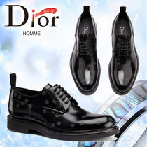 18AW【DIOR HOMME】ダービーシューズ カーフスキンBEEディテール