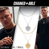 Chained&Able★MINIメダリオンフィガロ2連ネックレス*クーポン付