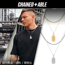 Chained&Able★MINI タグ ロープ2連ネックレス★クーポン付き