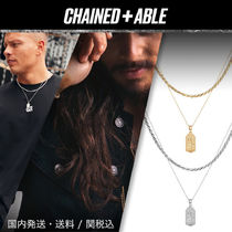 Chained & Able★MICRO タグ ロープ2連ネックレス★クーポン付き