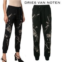 【18AW】★Dries Van Noten★embroidered track pants