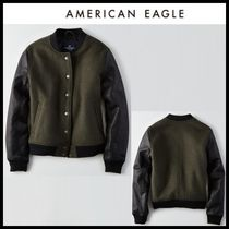 American Eagle Outfitters(アメリカンイーグル) ジャケット ☆American Eagle Outfitters☆ 配色ボンバージャケット