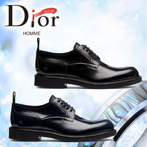 18AW【DIOR HOMME】ダービーシューズ カーフスキンBEEモチーフ