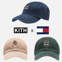KITH NYC(キスニューヨークシティ) キャップ 確保済★超話題【KITH x TOMMY HILFIGER】キャップ 帽子 3色