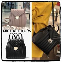★SALE★MICHAEL KORS Whitney Quilted バックパック新作