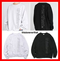 人気☆【thisisneverthat】☆Hsp Crewneck☆2色☆