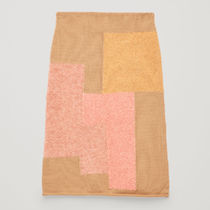 COS☆PATCHWORK WOOL PENCIL SKIRT / pink