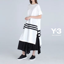 Y-3(ワイスリー) Tシャツ・カットソー 直営アウトレット【Y-3】W 3STP TEE LONG/ CY8451 WHITE