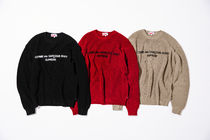 18Supreme Comme des Garcons SHIRT Cotton Sweaterセーター