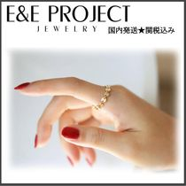 E and E PROJECT(イーアンドイープロジェクト) 指輪・リング 日本未入荷★CA発E&E PROJECT★DISC CHAIN リング