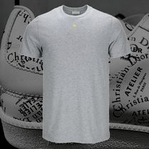 **DIOR*2018‐19AW DIOR EMBROIDERED BEE T-SHIRT GREY  Tシャツ
