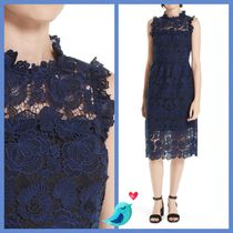 Kate Spade★SO FOXY BI-COLOR LACE MIDI DRESS☆セール