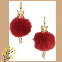 KATE SPADE★ SO FOXY FOX STATEMENT EARRINGS ピアス★セール