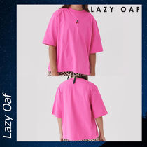 LAZY OAF Hot Pink Cherry シャツ Tシャツ トップス ピンク