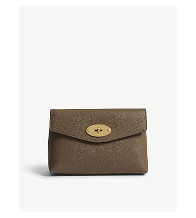 Mulberry メイクポーチ 【関税・送料ゼロ】MULBERRY スモールレザーポーチ(4)