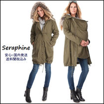 Seraphine ● 王室御用達 ♪ 3in1 マタニティコート ☆ カーキ