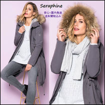 Seraphine ● 王室御用達 ♪ 3in1 マタニティコート ☆ グレー