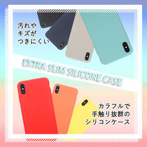 iPhoneXs/X/Xr/XsMax シリコンケース/EXTRA SLIM SILICONE CASE
