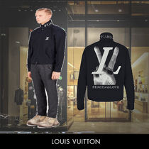 Louis Vuitton HAND LV GRAPHIC HARRINGTON ブルゾン Marine