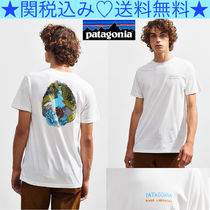 ★Patagonia★River Liberation Tee★背中にグラフィック★
