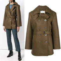 18-19AW C382 BELTED PEA COAT