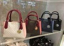 【Michael Kors】新作☆KIMBERLY SM  SATCHEL 2way バッグ☆