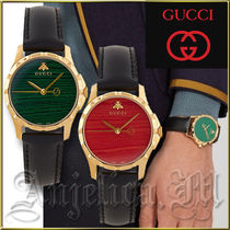 ★送料関税追跡込★GUCCI Malachite Watch YA126463 YA126464