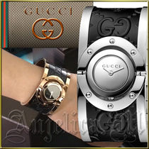★送料関税追跡込★GUCCI Twirl Silver Ladies Watch YA112441