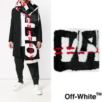 [Off White]Industrial ファー マフラー OWMA010E180550501001