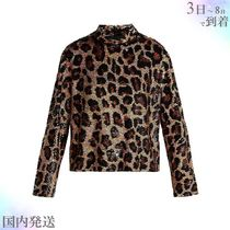 Ashish(アシシュ ) Tシャツ・カットソー すぐ届く▼Leopard sequinned top