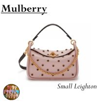 Mulberry☆Small Leighton☆ ピンクのドッドでキュート 2018秋冬