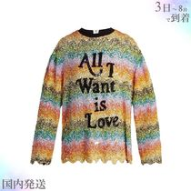 Ashish(アシシュ ) Tシャツ・カットソー すぐ届く▼RUNWAY Striped sequin装飾 シルク top