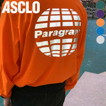 ASCLO(エジュクロ) Tシャツ・カットソー ★ASCLO★ paragraph scotch t shirts