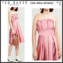 【関税込】TED BAKER ドレス☆Pippaa pleated satin dress