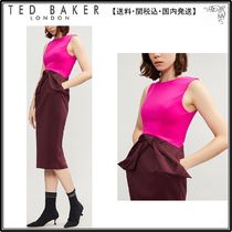 【関税込】TED BAKER ドレス☆Nikkita stretch-jersey dress