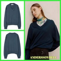ANDERSSON BELL(アンダースンベル) ニット・セーター ANDERSSON BELL UNISEX INSIDE OUT V NECK SWEATER セーター